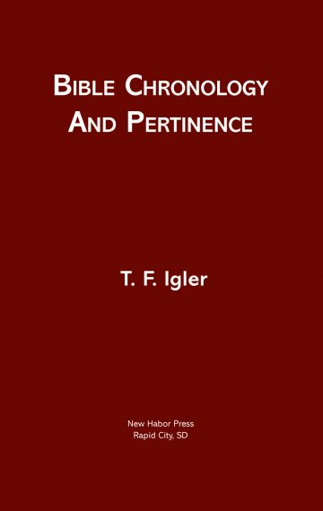 Bible Chronology and Pertinence